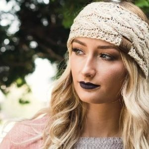Confetti Sherpa Lined Winter Headbands